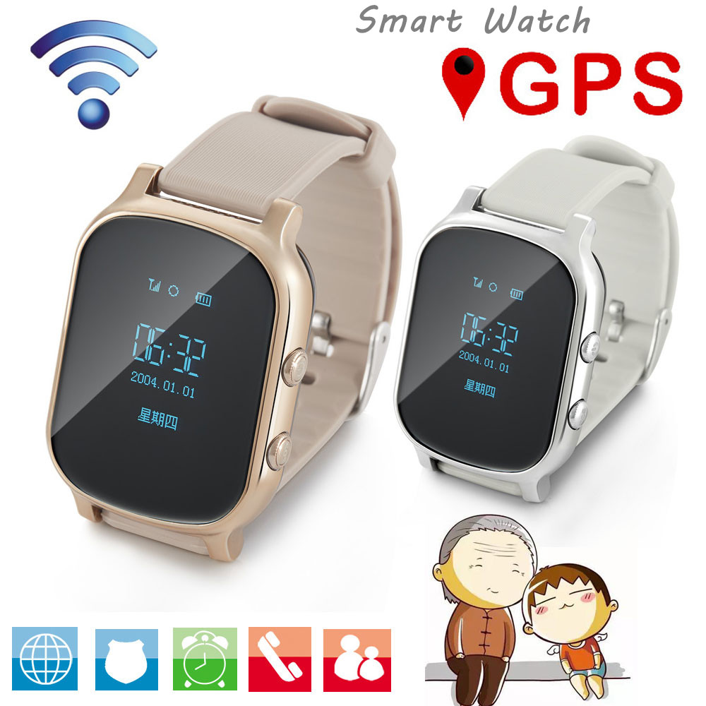 Russian Fitness Smart Watch for Olderly Kids GPS Anti Lost Healthy Smart Bracelets Two Ways Call Touch Srceen Camera Smart Band