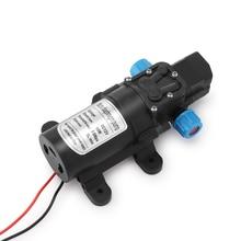 Neue DC 12 V 60 W 0.8MPA 5L/MIN Micro Membran Pumpe Intelligente Mini Elektrische Selbstansaugende Wasser pumpe 12 V MAX Saug 2 M Qualität
