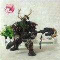 WOW Figura de Acción En Línea Famoso Personaje Del Juego 17 CM Night Elf Druid Broll Bearmantle WOW Figura de Juguete Del PVC