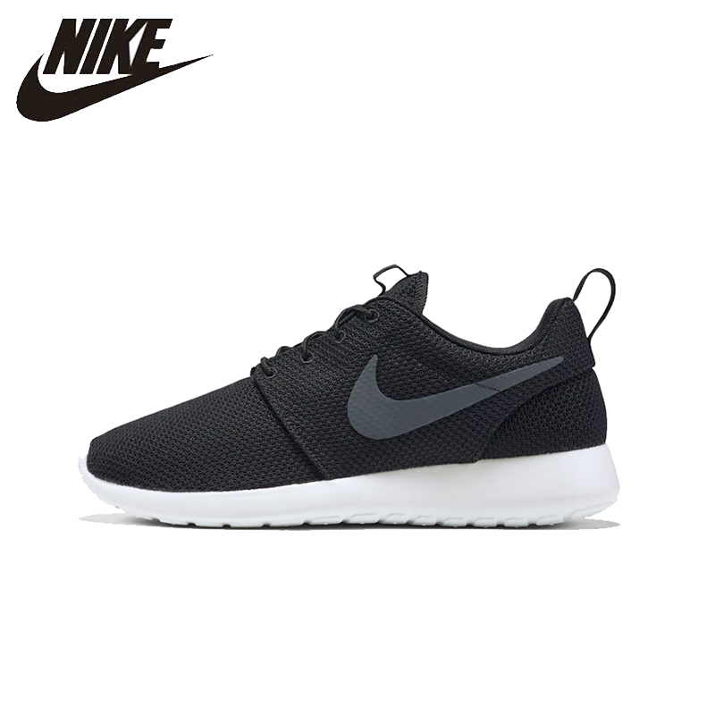 NIKE Original New Arrival Mens Sneakers 2017 ROSHE ONE Running Shoes Mesh Breathable Stability High Quality For Men#511881 apple summer new arrival men s light mesh sports running shoes breathable fly knit leisure comfortable slip on sneakers ap9001