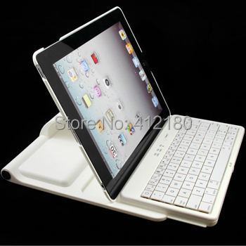 New Arrival 360 Degree Rotating  All-in-one Bluetooth Workstation Keyboard Case & Stand Free Shipping