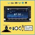 Bosion 100% новый универсальный автомобиль радио двухместный 2 din dvd-плеер автомобиля GPS навигация в тире пк автомобиля стерео автомагнитолы видео + бесплатная карта + бесплатная Cad