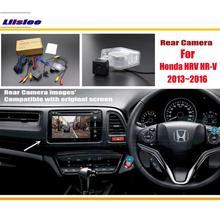Liislee Per Honda HRV HR-V 2013 ~ 2016 RCA e Originale Schermo Compatibile Rear View Camera/Back Up Reverse fotocamera Imposta