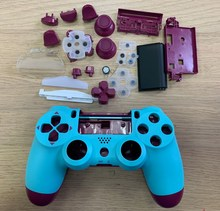 made in china replacement case housing for ps4 slim 4.0 jdm 040 wireless controller touch with light
