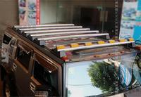 Jioyng автомобиля 2 шт./компл. автомобиля стойка для багажника на крыше весы для багажа перекрестные штанги для крепления лампы подходит для