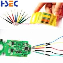 Mikro IC kelepçe 10 adet/takım SOP/SOIC/TSSOP/TSOP/SSOP/MSOP/PLCC/QFP /TQFP/LQFP/SMD IC testi çip pin mini cips adaptör soketi