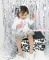 Пасха розовый кролик на день рождения белый боди шику блеск серый блесток юбка детское платье NB-18Month MAJSA0529
