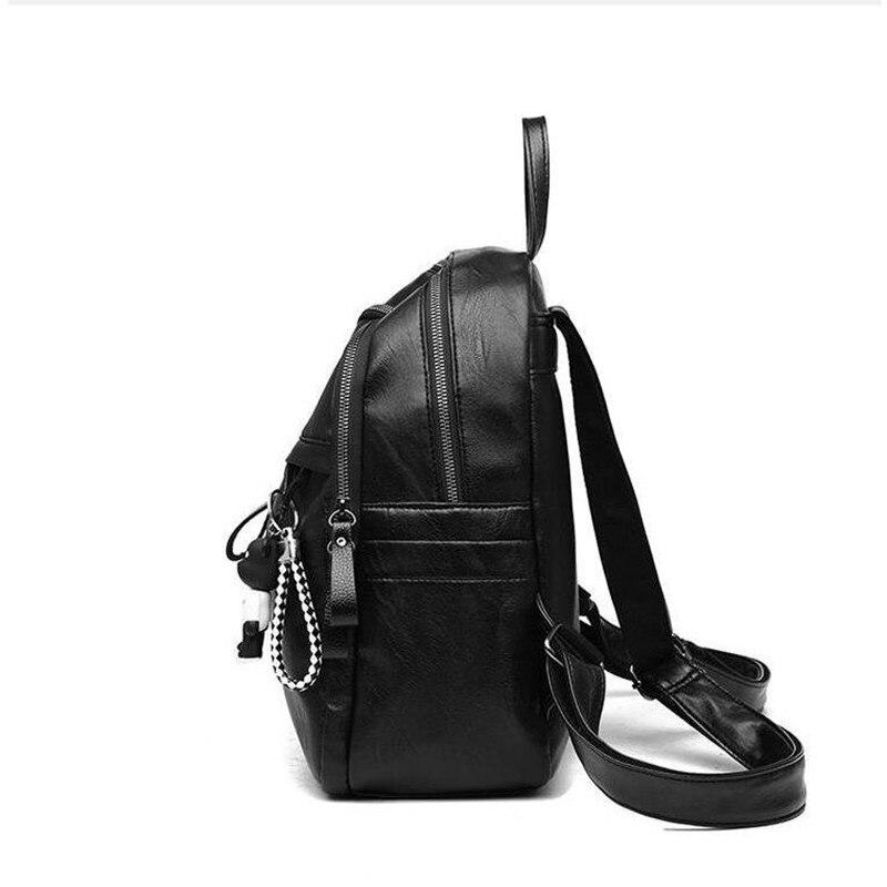 HTB1a9QZN4TpK1RjSZR0q6zEwXXaL On sale New 2019 Women ladies PU Leather small Backpacks for Teenage Girls Female School Shoulder Bag bag pack mochila