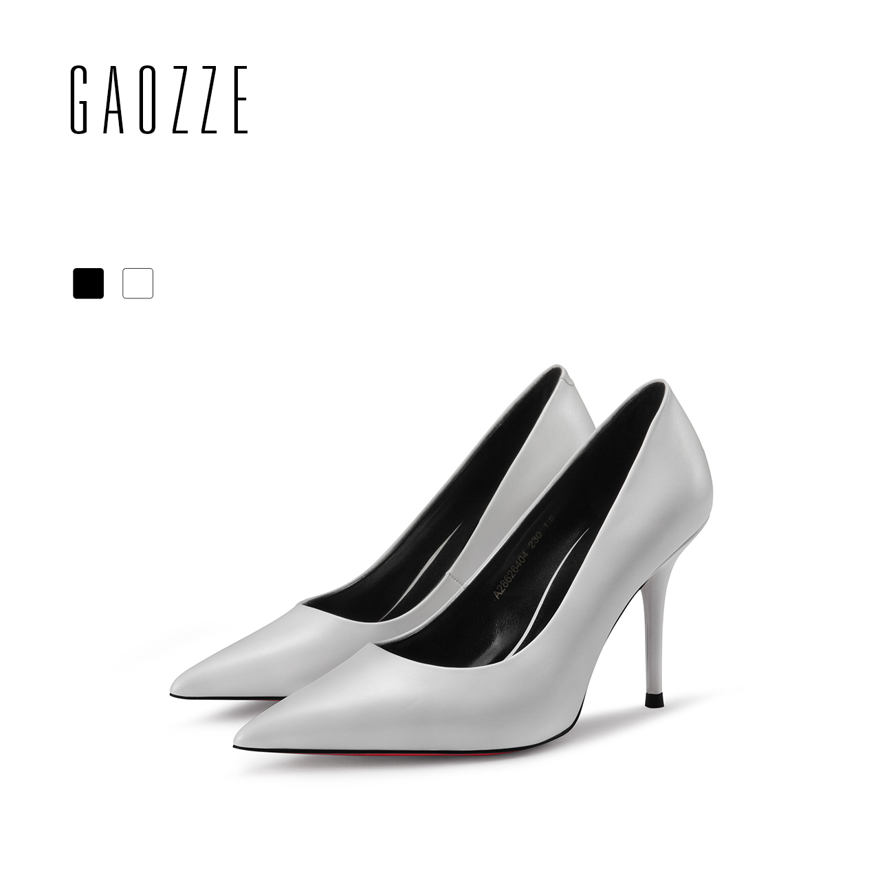GAOZZE Genuine Leather Woman Shoes Classic Pumps Pointed Toe Sexy High Heels Lady Office Shoes Women Social Party Shoes 2018 New the new puma womens shoes classic high classic star high tongue series white leather laser badminton shoes