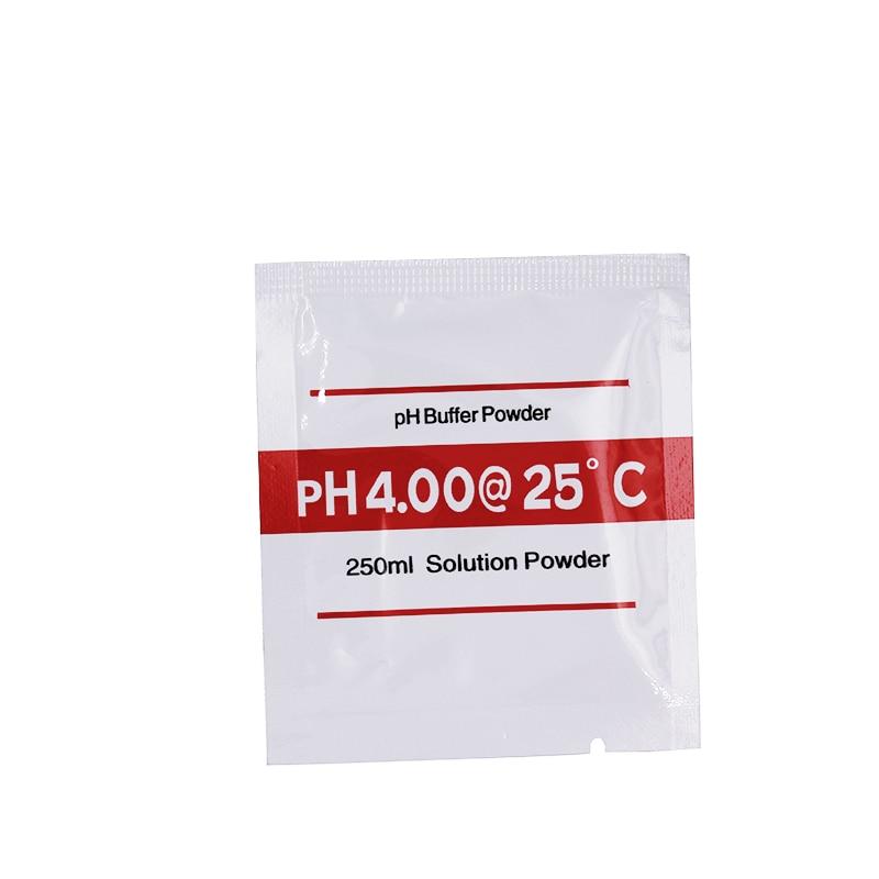 200 pz / lotto Nuova polvere tampone PH per misuratore di pH Misura - Strumenti di misura - Fotografia 3