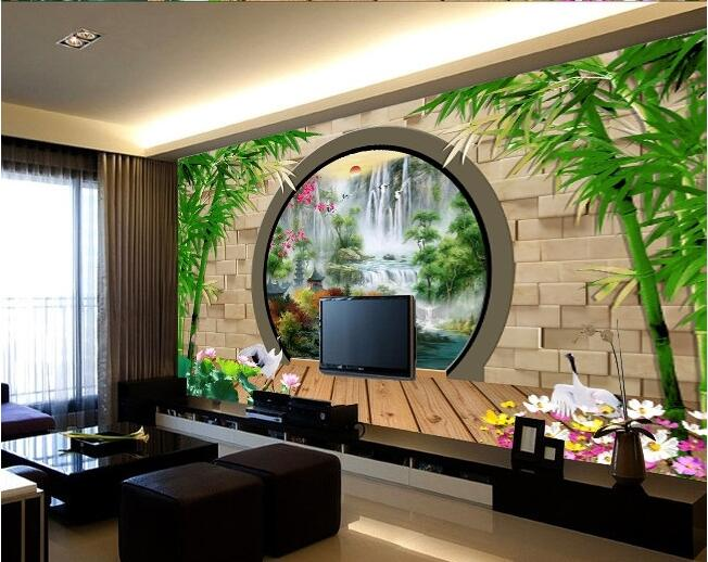 3d room wallpaper custom mural non-woven wall sticker 3d 3 d bamboo garden landscapes painting photo wallpaper for walls 3d 3d wallpaper custom mural non woven cartoon animals at 3 d mural children room wall stickers photo 3d wall mural wall paper