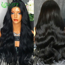 Luffy Hair 180 Density U Part Human Hair Wigs Middle Parting Unprocessed Virgin Peruvian U Part Wig Human Hair No Lace