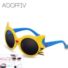 2017 Fashion shade Kid Girl Boy Sunglasses Child cat eye Sunglasses Anti-uv Baby Sun-shading sunglass uv400 shade protection