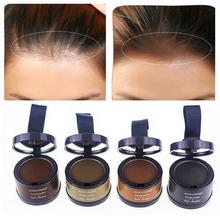 Włosy puszyste proszek natychmiast czarny korzeń pokrywa naturalny do farbowania włosów linii cień do powiek w proszku pełne korektor do włosów pokrycie tanie tanio 6588754 H1005 1 pcs as item shows Produkt wypadanie włosów
