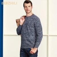 Высокое класс для мужчин свитер Новинка 2018 года 100% кашемир пуловеры для женщин зимние теплые джемпер с круглым вырезом благородная модна