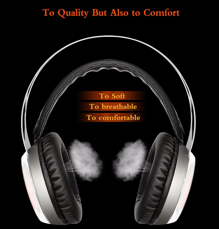 Xiberia X12 USB Gaming Headset Surround Sound Noise Canceling Luminous LED Light Over ear Headphones with Microphone for PC (19)