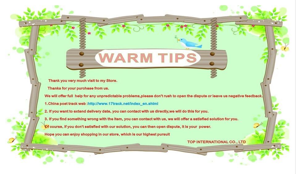 warm tips