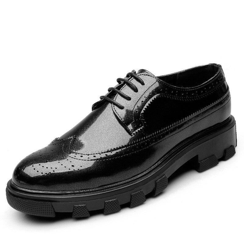 Sapatas Homens Alta Marca Confortável Qualidade Moda Primavera Barco Couro De Sapatos Dos Mpx8107229 xZB4XfZw