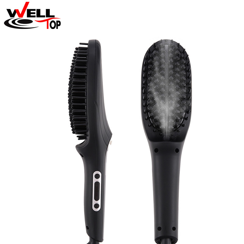 LCD Display Professional Steam Hair Straightening Brush Mature Tech Steam Hair Comb Fast Steam Hair Straightening Brush lc171w03 b4k1 lcd display screens