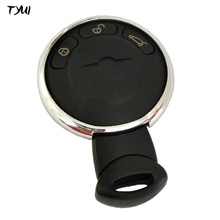 TYUI Plastic Black 3 Button Car Smart Key For BMW Mini Cooper Remote Key Case Fobs Replacements