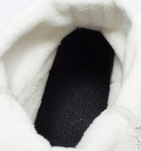Felpa Invierno negro Zapatillas Mujer Nieve Altas Plataforma Tobillo Nuevas Beige Otoño Motocicleta Botas Mujer Para Cálida De Piel 2019 IZUpx0Bn