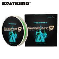 KastKing SuperKast 9 Fili 150M Liscio PE Intrecciato la Linea di Pesca 10LB 80LB Multifilamento Linea di Pesca per Luccio Basso di Pesca