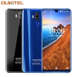 Oukitel K9 смартфон с 5,5-дюймовым дисплеем, восьмиядерным процессором MTK 7,12, ОЗУ 4 Гб, ПЗУ 64 ГБ, 6757 мАч, Android 9,0