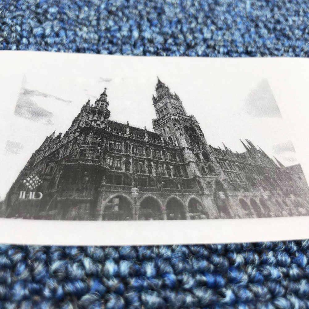 57X30 Mm Semi Transparan Thermal Cetak Kertas Roll untuk Paperang Printer Foto