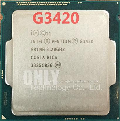 INTEL PENTIUM G3420 3.2GHZ LGA 1150 SR1NB 2-CORE CPU PROCESSOR