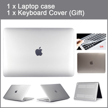 Crystal Case For Apple Macbook Air Pro Retina 11 12 13 15 inch laptop bag For New Mac book Air Pro 13.3 15.4 Case A1932+Gift