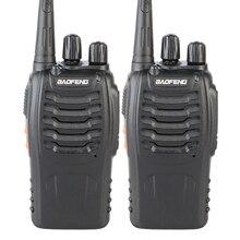 2PCS оригінальний 5 Вт Макс 16 каналів 400-470 МГц PMR Walkie Takie двостороння радіостанція Baofeng BF-888S