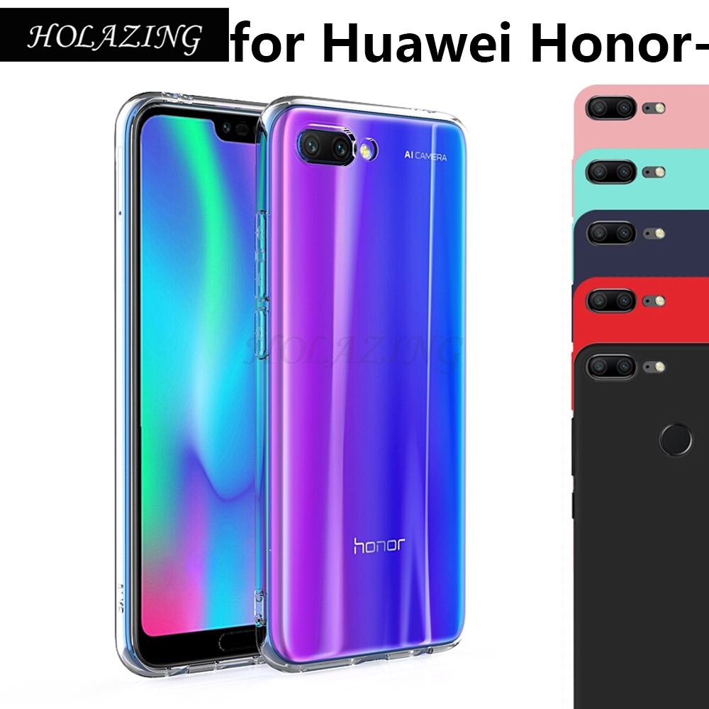 Clear TPU Soft Silicone Case For Huawei Honor 8X Max V20 8C 7A Pro 7C Note Honor 10 9 Lite 6A V10 UltraThin Skin Cover Funda