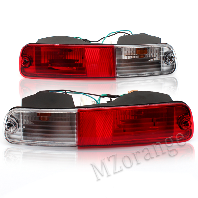 Rear Fog Lights,rear reflector for Mitsubishi PAJERO V73 2003 2004 2005 2006 2007 REAR BUMPER LAMP FOR V75 V77 FOR MONTERO V73 led rear bumper reflectors lights for mitsubishi pajero sport 2 2015 2016 led driving braking lights rear warning light