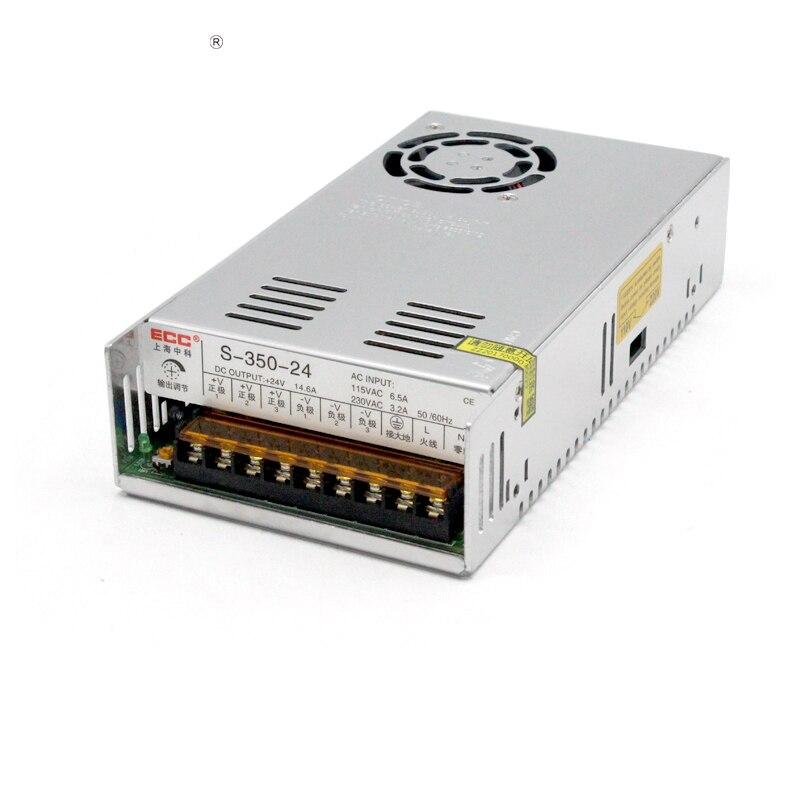 S-350W-24V14.6A Mode de commutation alimentation moniteur soins médicaux machines électriques AC220V changement DC Direct
