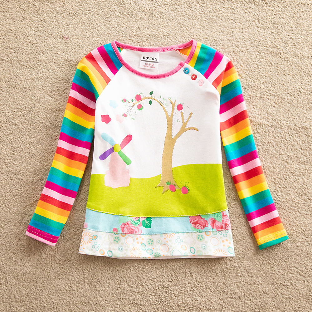 NEW C /& A T-SHIRT PINK STRIPE COTTON GIRL PRINT AGE 7-8 YEARS