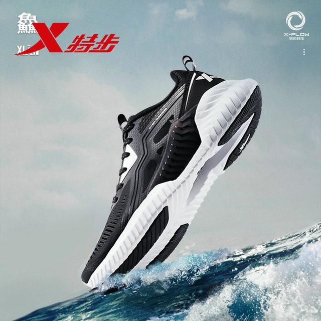 881219119600 Qingfeng Xtep Мужская обувь спортивная обувь 2019 весна новый сетки дышащие кроссовки мужские кроссовки