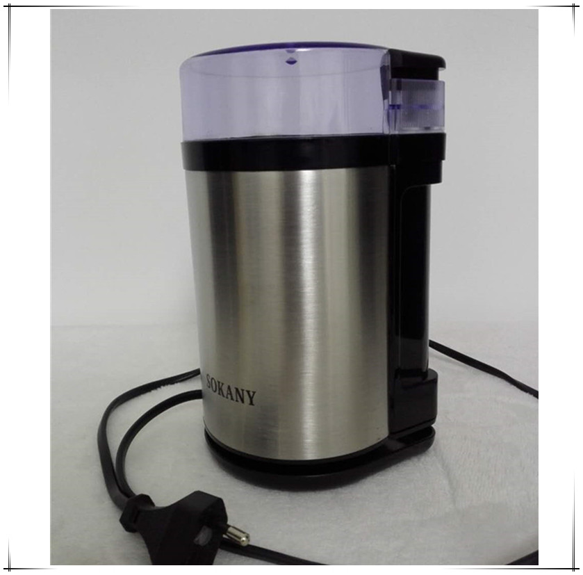 Latest Coffee Grinder Stainless Steel Electric Grinding Machine Multifunction Household Bean Spice Grinding Coffee Mill spices grinder machine