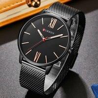 2017 CURREN Men S Watches Top Brand Luxury Man Quartz Watch Men Casual Sports Clock Male
