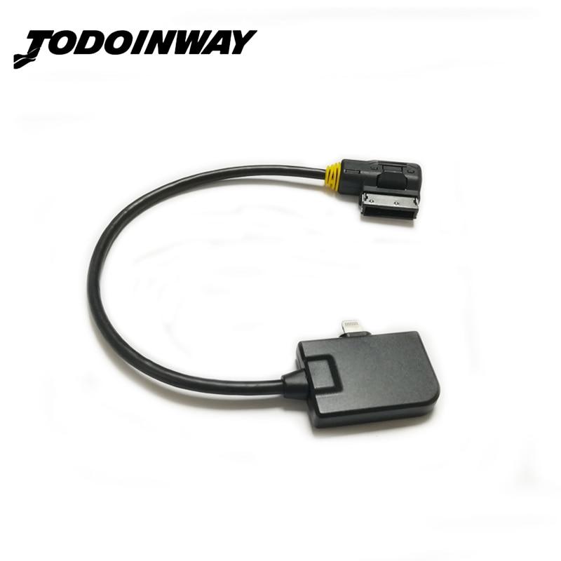 OEM AMI MMI giocatore di musica di trasporto cavo adattatore ligtning auto cavo USB audio MDI interfaccia per iPhone 5 6 7 per audi A3 8 V A6 A7 A8 Q5 Q7
