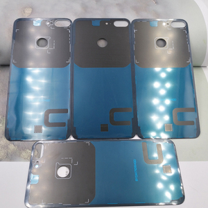 Image 5 - Huawei 社の名誉 9 Lite のオリジナルバックカバー PC + ガラスバッテリーケース、名誉 9 Lite ドアリア交換ハウジングカバーとロゴ