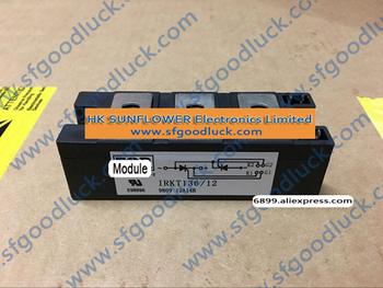 IRKT136 12 tyrystorowy moduł SCR moduł zasilania 1200 V 135A 7-Pin INT-A-PAK przybliżona waga 200g (7 1 uncja) darmowa wysyłka tanie i dobre opinie Fu Li