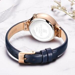 Image 5 - NAVIFORCE Top Luxury Brand New Fashion Women Watches Quartz Ladies Rhinestone Watch Dress Wrist Watch Female Casual Simple Clock