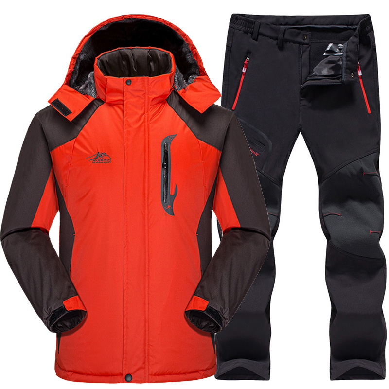 Skiing & Snowboarding Disciplined Free Shipping French Ski Suit More Authentic Outdoor Waterproof Winter Warm Breathable Double Plate Ski Jacket And Pant Pelliot