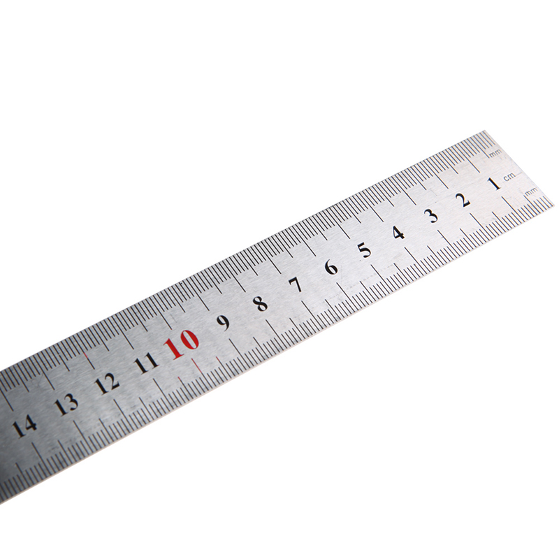 2019 New Portable 1Pc 30cm Stainless Steel Right Measuring Angle Square Ruler