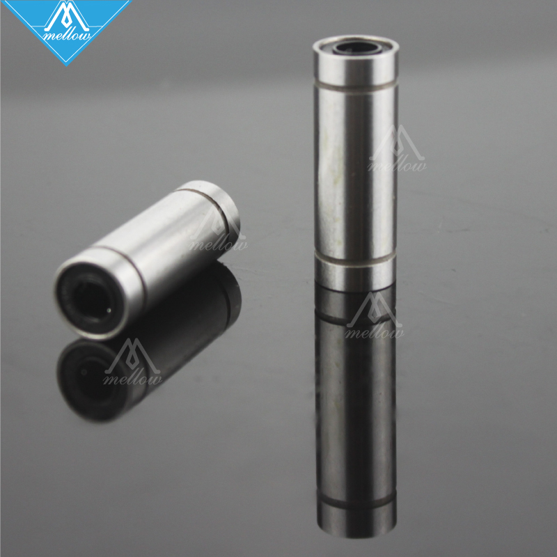 4pcs LM8LUU 8mm Long Linear Motion Bearing Ball Bushing 8x15x45mm CNC Parts