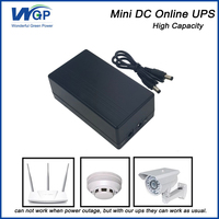 Long Backup Time Router Mini Dc Ups 12v Power Supply 12v 1a Online Type Mini Battery