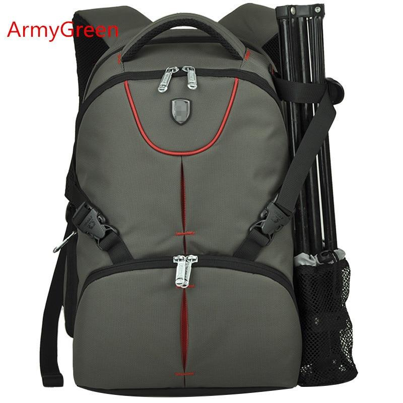 Professional Multifunctional Digital DSLR SLR Backpack Laptop Photography Shoulder Bag For Canon Rebel Nikon Sony Pentax Casio