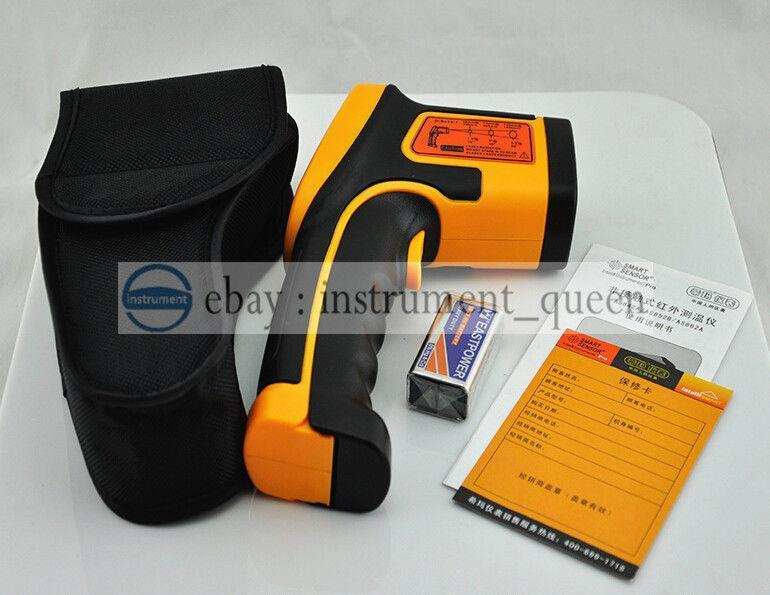 Infrared Thermometer Digital Smart Sensor AS862A -50~900C(-58~1652F) smart sensor ar550 infrared thermometer black orange 32 550 c