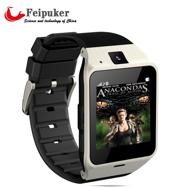 { First support NFC } Smart Watch GV18 for smartphone bluetooth with Camera Andr