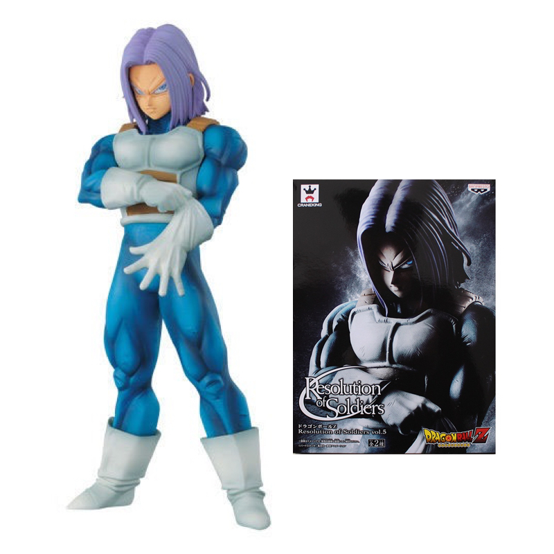 DRAGON BALL SUPER Future Trunks Figure RESOLUTION OF SOLDIERS VOL.5 Collectible Mascot Toys 100% Original jeff lemire the new 52 future s end vol 1